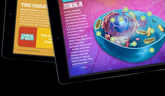 Screenshot of Kids Discover Online