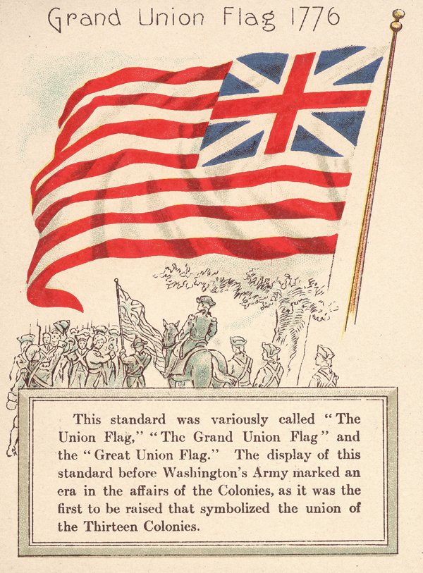 Grand Union Flag Of 1776