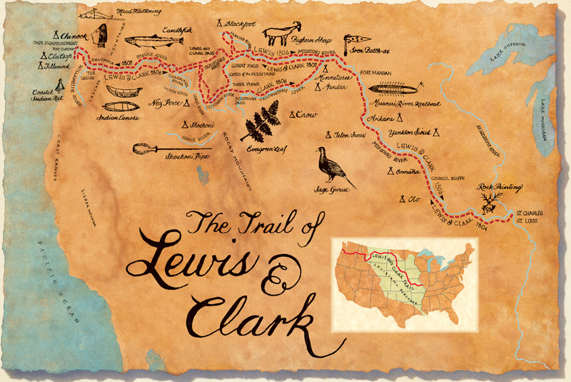 native american tribes that lewis and clark meet on their journey