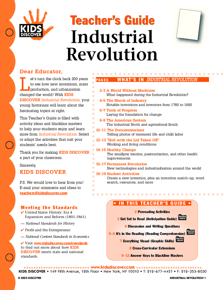 study guide for industrial revolution Villalobos i world history 2008‐09 study guide: industrial revolution unit test format: test format will be objective (multiple choice), identifications, and political cartoons.