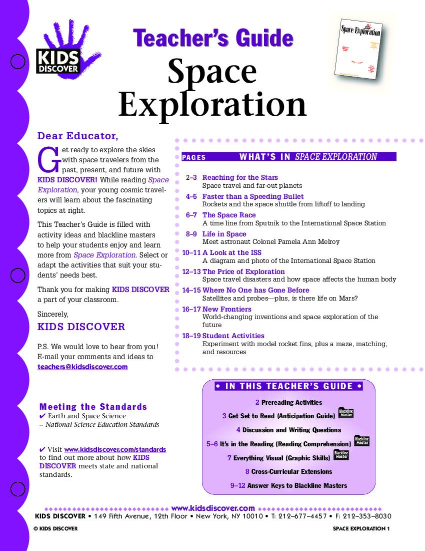 Quiz & Worksheet - Space Exploration Tools | Study.com