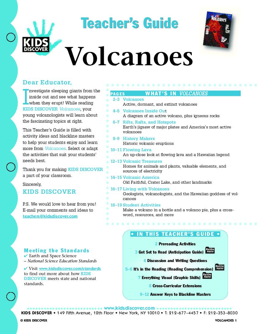 Volcanoes Kids Discover