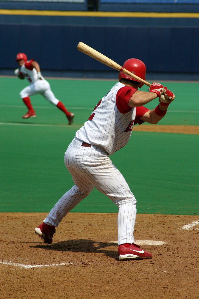 The rules of major league baseball require that bats be made of a single piece of wood. Only wood from six types of trees is permitted: white ash, sugar maple, true hickory, red oak, Japanese ash, and yellow birch. Bats made of silver maple and red maple were recently banned because of their tendency to break. (Richard Paul Kane/ Shutterstock)