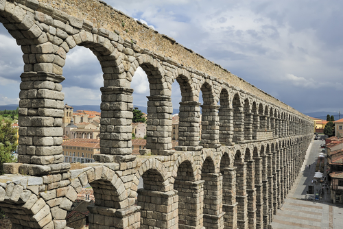 Roman Aqueducts The Dawn Of Plumbing Kids Discover