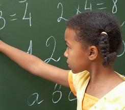 Girls Getting Their Math On