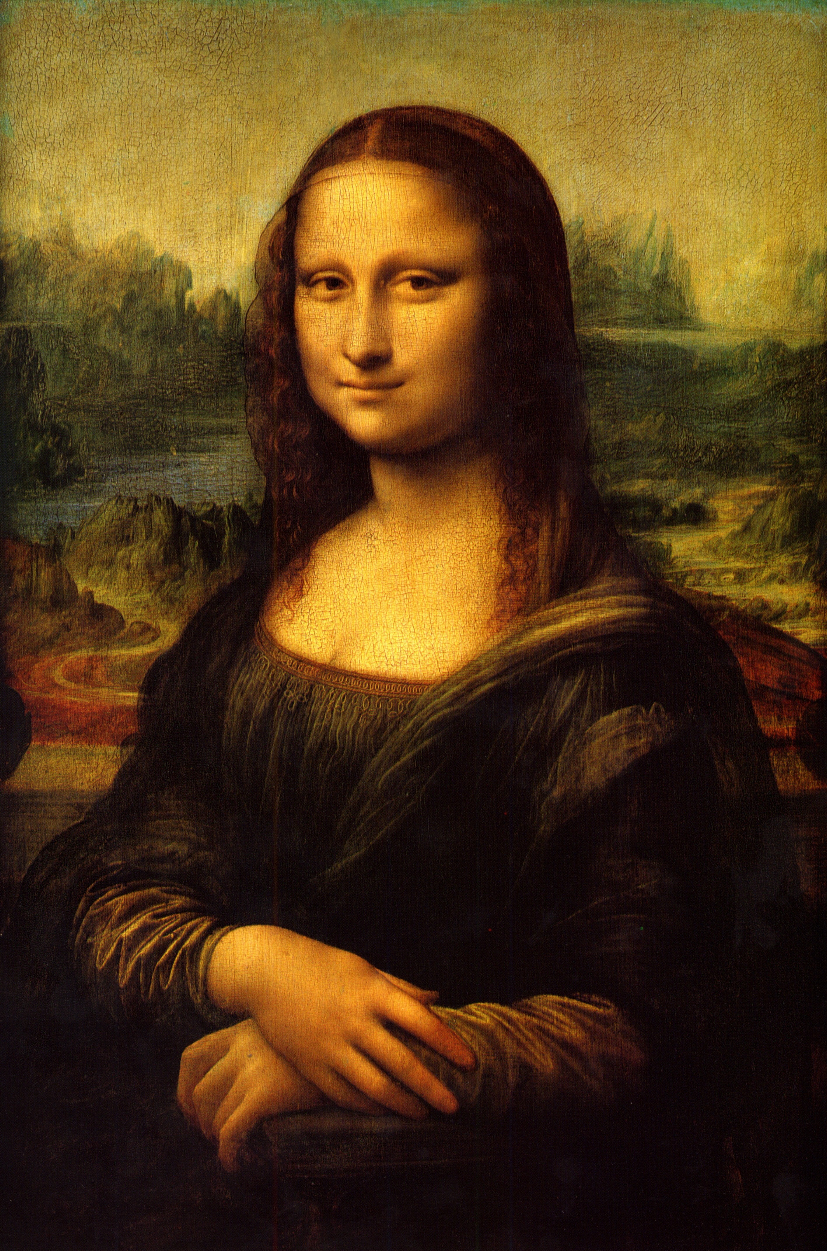 Want to know a Renaissance secret? Da Vinci worked on the Mona Lisa for years, but he never quite finished it to his own satisfaction. (Just don't tell the 7 million visitors who go see the Mona Lisa in the Louvre Museum in Paris every year.) (Image via Wikipedia)