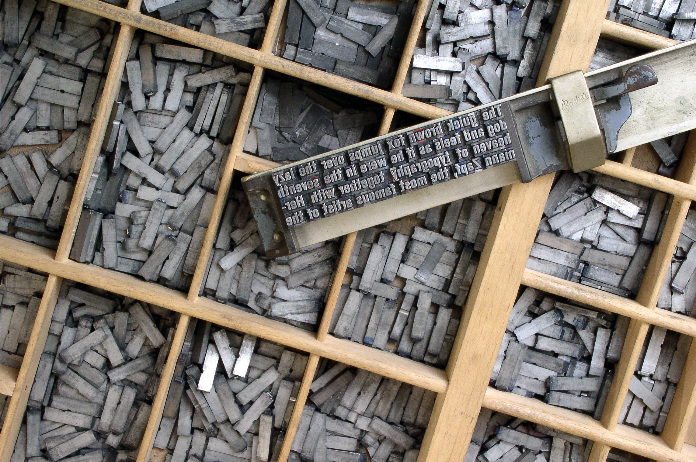 "It's probably something you don't think about. But the words you are reading right now are written in a ""typeface."" The letters are produced in a particular style—and hopefully the typeface is easy to read. Tens of thousands of typefaces exist today, but they are all inventions that originated with the early movable type of the Renaissance.  (Image via Wikipedia)"