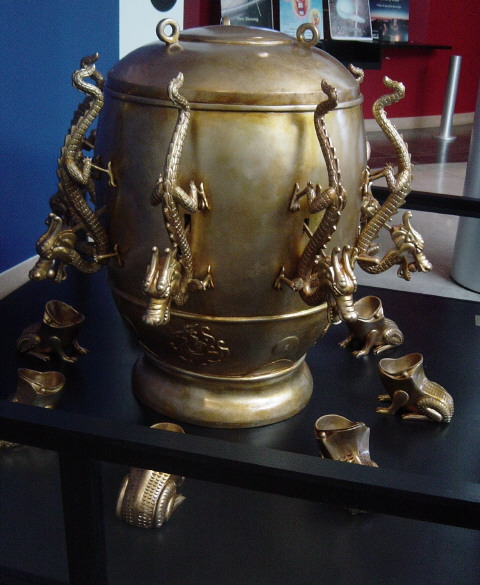 Ancient Chinese Seismometer Used Dragons and Toads - Kids
