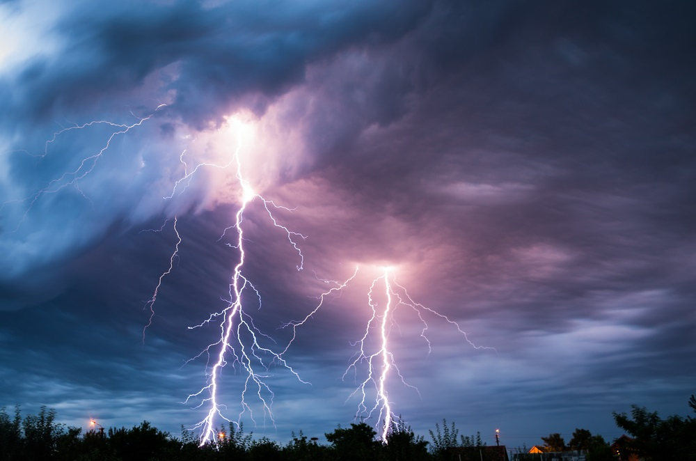 Why do you see lightning before you hear its thunder? Light travels much faster than sound. The sound of a thunder clap is caused by the lightning heating air molecules and pushing them outward, setting up an enormous sound wave. (Mihai Simonia/ Shutterstock)