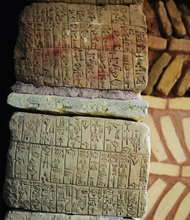 The ancient Mesopotamians kept records and wrote down stories, using tools from the Tigris and Euphrates. Pressed into river clay with a reed stylus, the Epic of Gilgamesh is one of the world's first pieces of literature. It tells the story of a mythic flood. (Hadrian / Shutterstock)