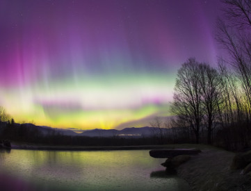 The New England sky in 1859 might have looked similar to this. (Don Landwehrie / Shutterstock)