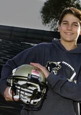 Teen Football Player Braeden Benedict Invents Helmet-Mounted Concussion Sensor