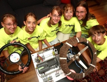 Teen Inventors Create Anti-Texting Steering Wheel to Save Lives