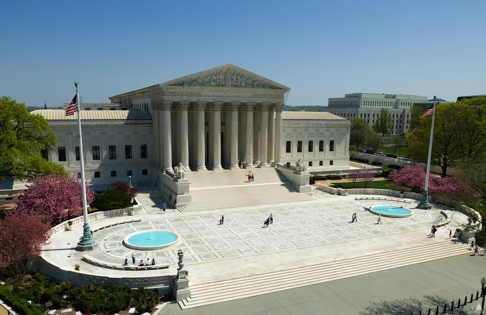 The Supreme Court building may look quiet, but what goes on inside can change the course of history! (Photo Credit: Architect of the Capitol)