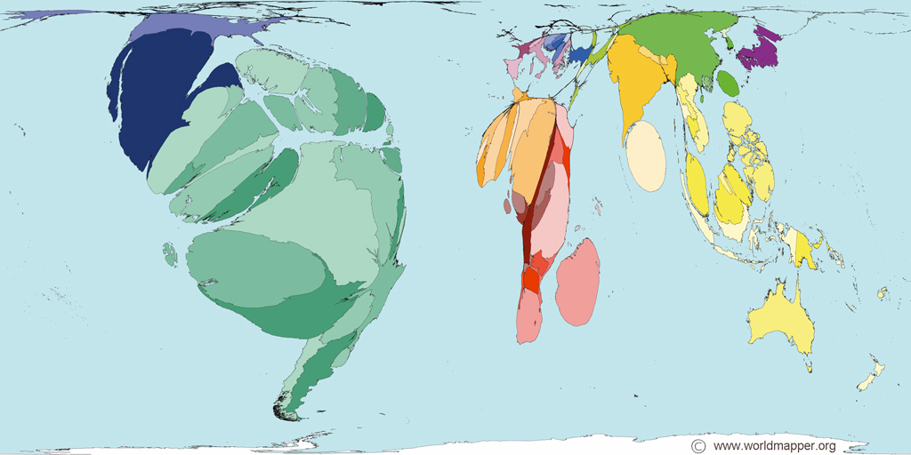 World Maps by Amphibians At Risk