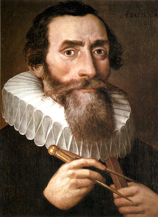 The Kepler mission was named after early German astronomer Johannes Kepler. Kepler lived from lived 1571-1630. 1500s. He was the first to really understand how planets move.  (Unknown Artist / Public Domain)