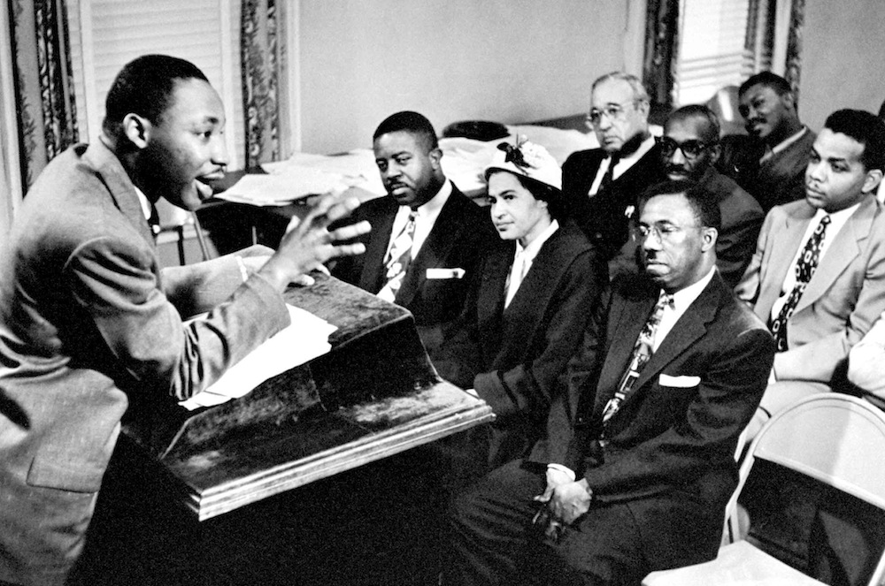 Martin Luther King Jr. Outlines Boycott Plans