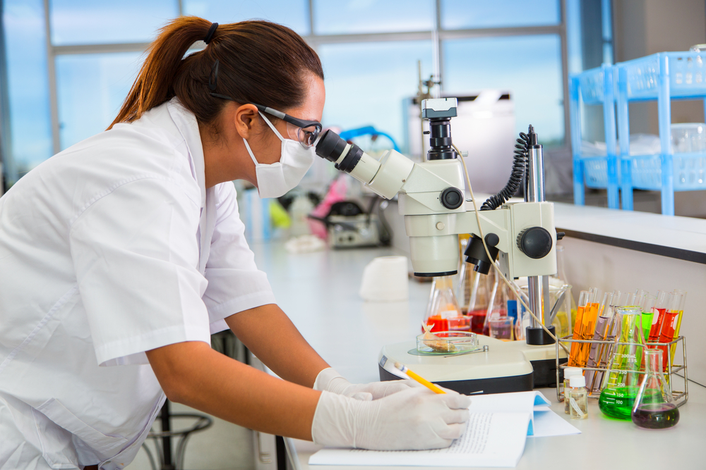 Microbiologists are scientists who study bacteria and other single-celled organisms. (Nattanan726 / Shutterstock)