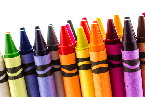 how colored crayons for kids were invented kids discover