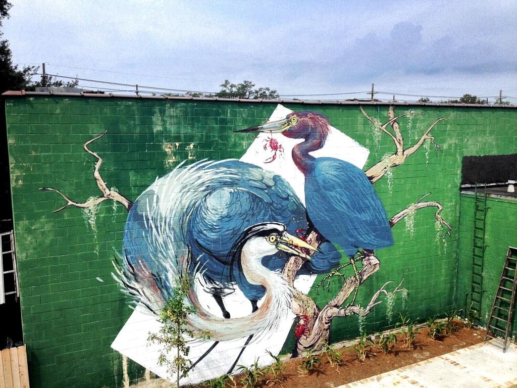Hitnes Mural New Orleans