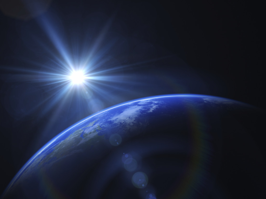 Earth and Sun BlackJack3D_istock