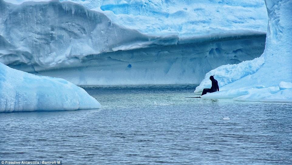 Freedive Antarctica/Barcroft M