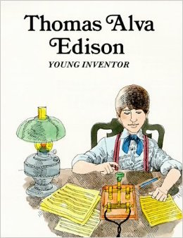 amazon_thomas alva edison young inventor