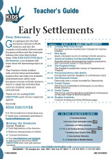 This 12-page Teacher Guide on Early Settlements is filled with activity ideas and blackline masters that can help your students understand more about early European colonies in North America. Select or adapt the activities that suit your students' needs and interests best.