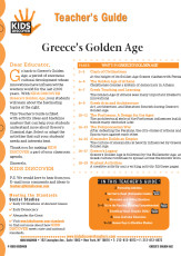 This 12-page Teacher Guide on Greece's Golden Age is filled with activity ideas and blackline masters that can help your students understand more about Greece's Classical Age. Select or adapt the activities that suit your students' needs and interests best