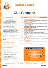 This Teacher's Guide on China's Empires is filled with activity ideas and blackline masters that can help your students understand more about China's history of imperial dynasties. Select or adapt the activities that suit your students' needs and interests best.
