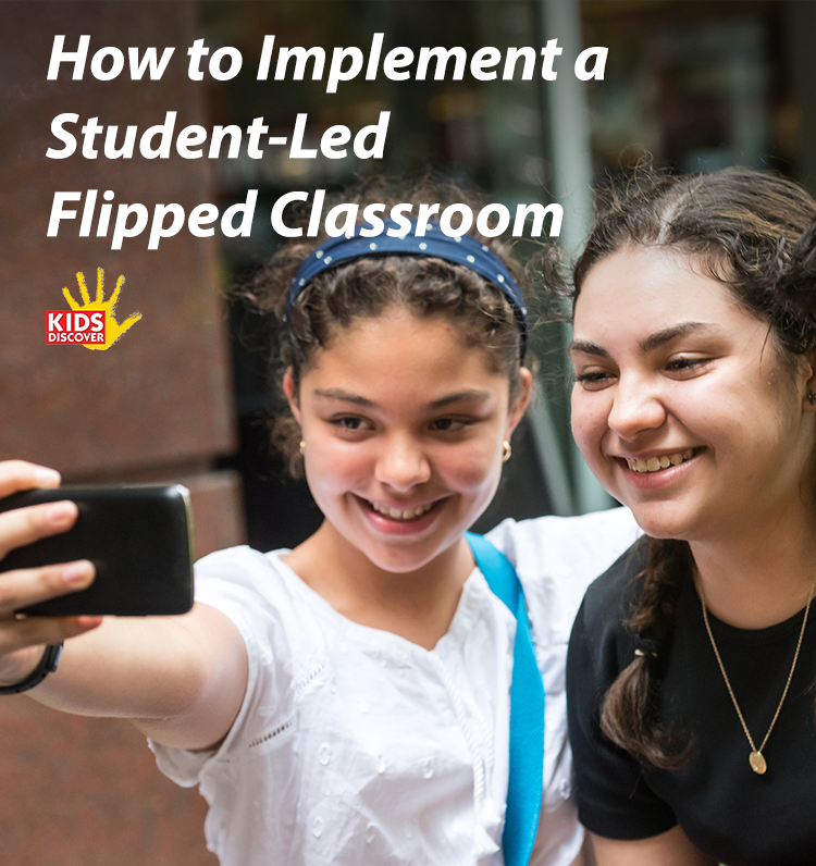How to Implement a Student-Led Flipped Classroom | A flipped classroom can still have a high level of teacher-led instruction, and a goal of 21st-century teaching is to empower students to lead their own (and others') learning. To achieve this, I task my students with creating flipped videos for each other.