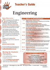 Teacher's Guide for Kids Discover Engineering