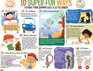 Infographic: 10 Super-Fun Ways To Make Summer Last