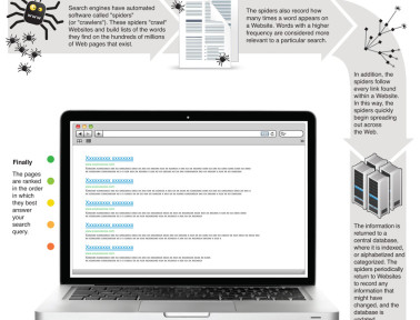 Infographic: How Search Engines Work