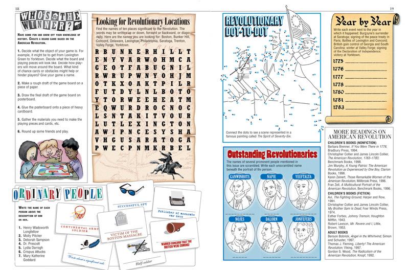 American Revolution Kids Discover – American Revolution Timeline Worksheet