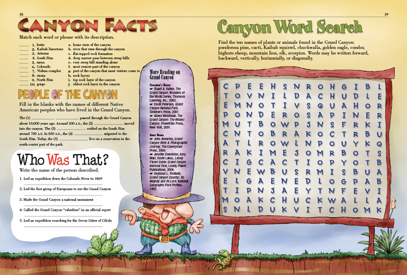 Grand Canyon Kids Discover. Previous Next. Worksheet. Grand Canyon Worksheets At Mspartners.co