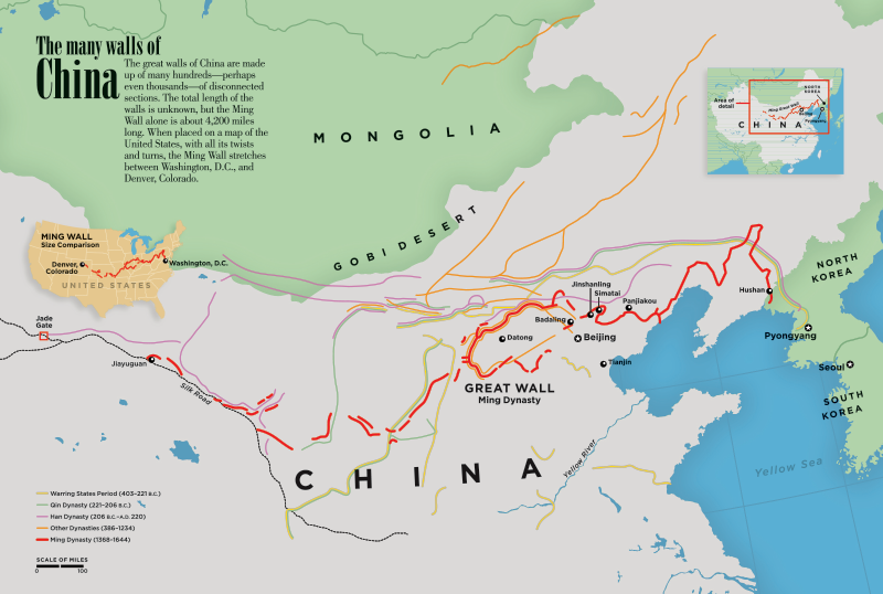 Great Wall Of China On China Map.Great Wall Of China Kids Discover