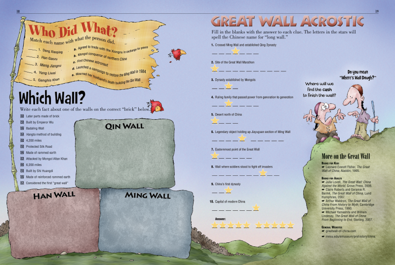 Great Wall of China  Kids Discover