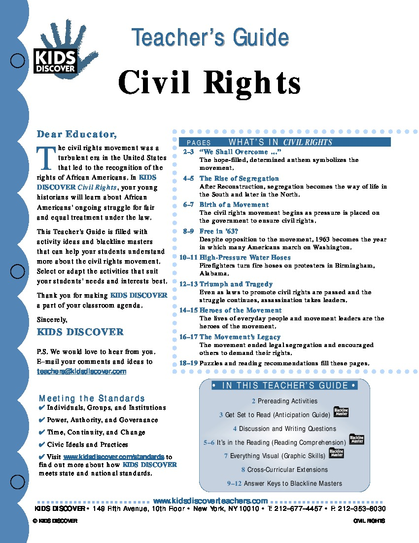 Civil Rights - Kids Discover
