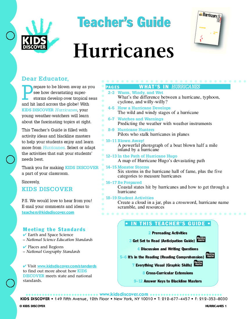 Free Worksheet Hurricane Worksheets hurricanes kids discover tg 118 jpg hurricanes