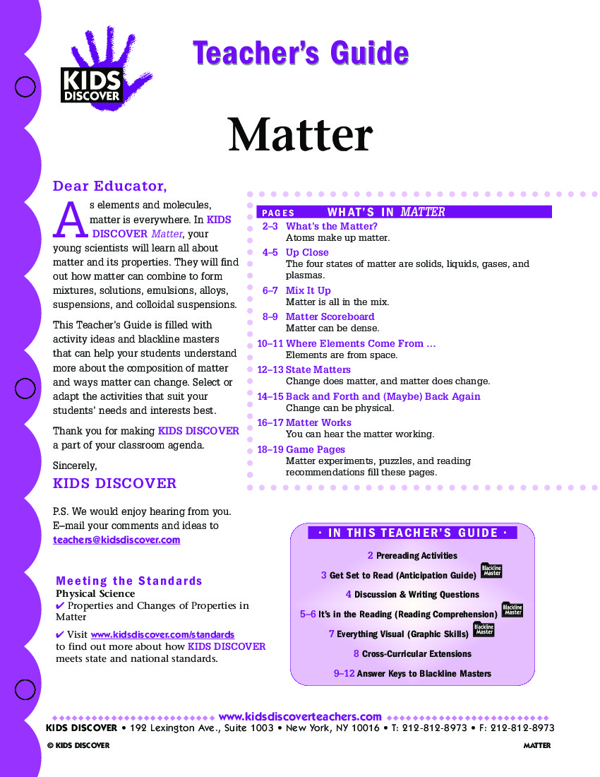 Properties Of Matter Worksheets For Grade 1 - Worksheet Pages worksheets, free worksheets, printable worksheets, and worksheets for teachers Physical Properties Of Matter Worksheets 1100 x 850
