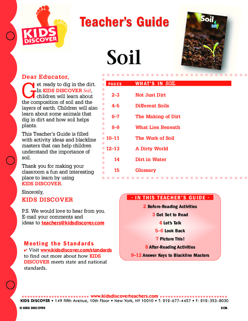 Soil layers for kids the image kid has it for Soil video for kids