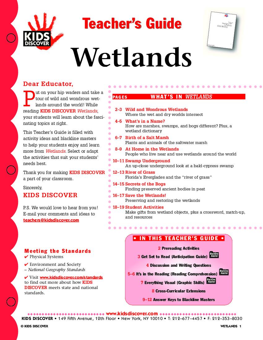 Wetlands - Kids Discover
