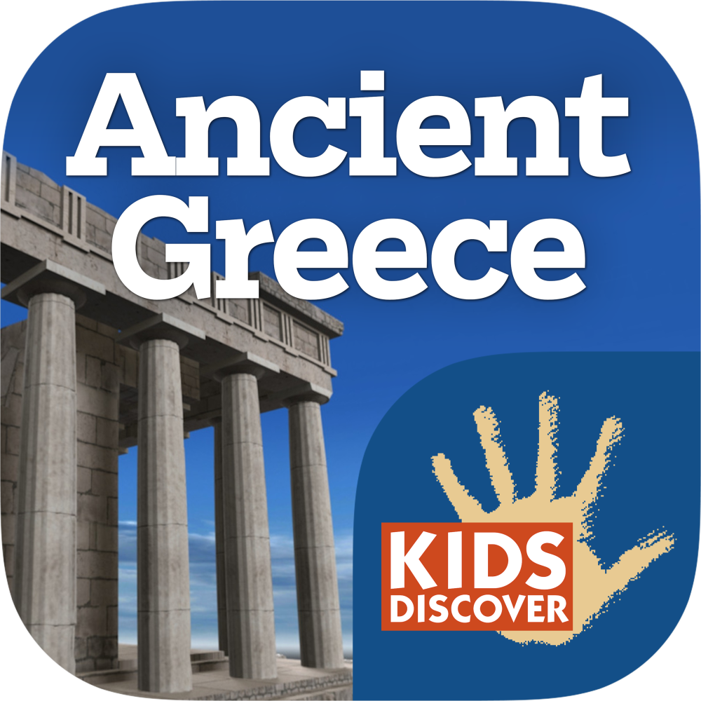 Ancient Greece for iPad - Kids Discover
