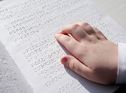 who invented the braille system for blind