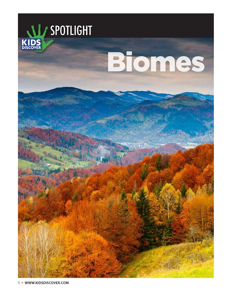 Biomes KIDS DISCOVER