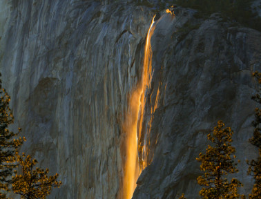About Horsetail Falls, One of Yosemite's Ephemeral Waterfalls