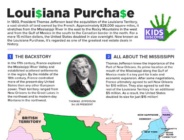 Printables Louisiana Purchase Worksheet purchase worksheets davezan louisiana davezan
