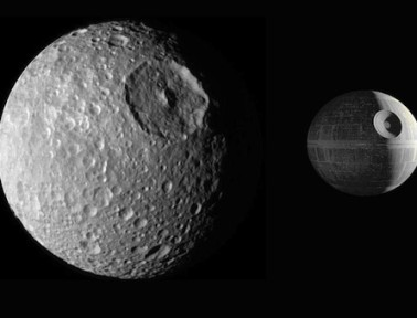 "Fun Facts About Mimas, Saturn's ""Death Star"" Moon"