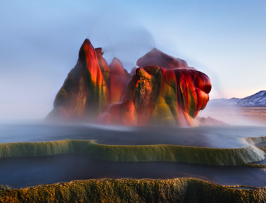 Nevada's Fly Ranch Geyser Is an Unnatural Wonder